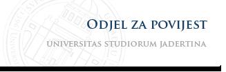 Sveučilište u Zadru - Odjel za povijest