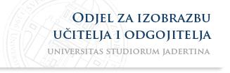Sveučilište u Zadru - Odjel za izobrazbu učitelja i odgojitelja