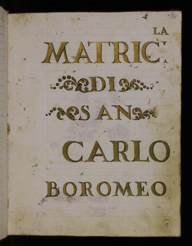 Madrikula laičko - svećeničke Bratovštine svetog Karla Boromejskoga